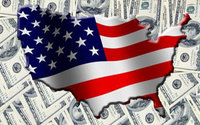 Дефицит бюджета США - ,6 тлрн.