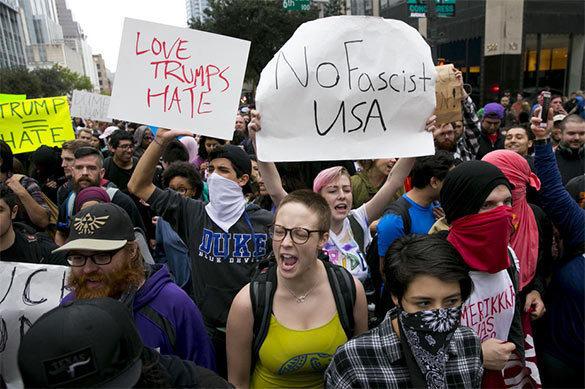 Трамп обвинил либералов в протестах