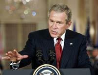 Буш доволен высокой явкой иракцев
