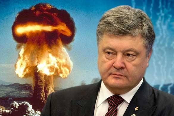 Ядерное оружие в Крыму, истерика Порошенко, жесткий ответ Пескова