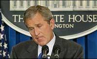 Буш был осторожен в высказываниях по Ирану
