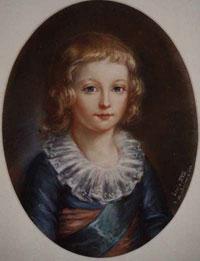 Наследник французского престола, малолетний Людовик XVII