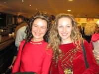 Татьяна Романенко (справа) и итальянская танцовщица