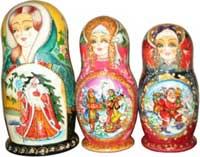 Русская культура - это не только матрешки, балалайка и водка