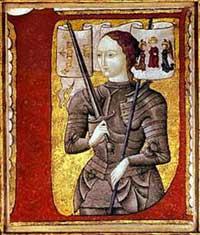 Мумия подтвердила легенду о спасении Жанны д'Арк
