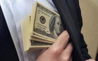 """Банкиры США лидируют в """"бонусной гонке"""""""