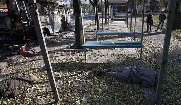 Донецк под ударами силовиков: слышны взрывы,  есть погибшие