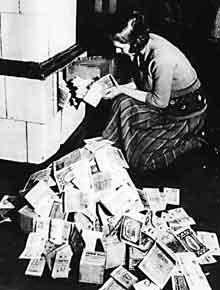 Инфляция в послевоенной Германии