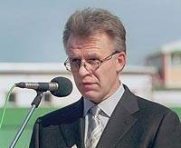 Глава Федерального агентства по физкультуре и спорту Вячеслав