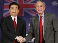 Ху доставляет Бушу большие проблемы