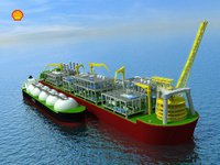 Shell построит плавучие газовые заводы