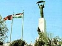 В Будапеште осквернили памятник советским воинам