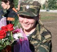 Супруг мужественно ждал любимую из Чечни