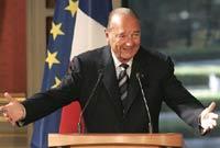 Жак Ширак пригрозил применить ядерное оружие против
