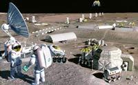 Лунных колонистов ожидает удар