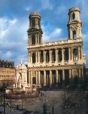 """""""Кодовые"""" маршруты: из Франции в Великобританию. Церковь Сен-Сюльпис в Париже"""