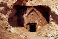 Вход в предполагаемую гробницу Иисуса. Фото Welt-online