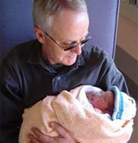 Папа стал дедом для своего ребенка