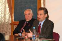 С. Сулейманов (слева) и Б. Стаценко