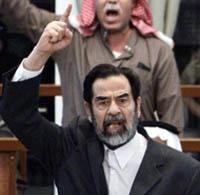 Саддам Хусейн взял всю ответственность на себя