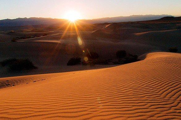 Аномалии этой зимы: Даже в пустыне выпал снег