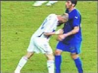 Тренер сборной Франции осудил бодание Зидана