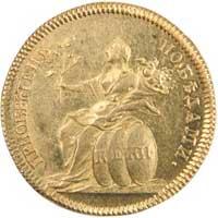 В память заключения мира с Турцией (приобретен победами) (1774)