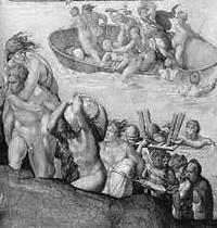 Микеланджело. Всемирный Потоп