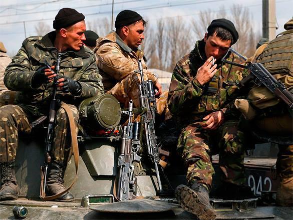 Еще один украинский офицер перешел к ополченцам