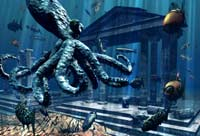 Легенда об Атлантиде – загадочном государстве, которое поглотило