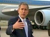 Буш не ответил на вопрос о времени ухода из Ирака
