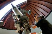 Телескоп обсерватории Ватикана в Кастель Гандольфо, в которой