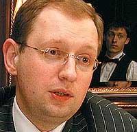 Министр экономики Украины Арсений Яценюк
