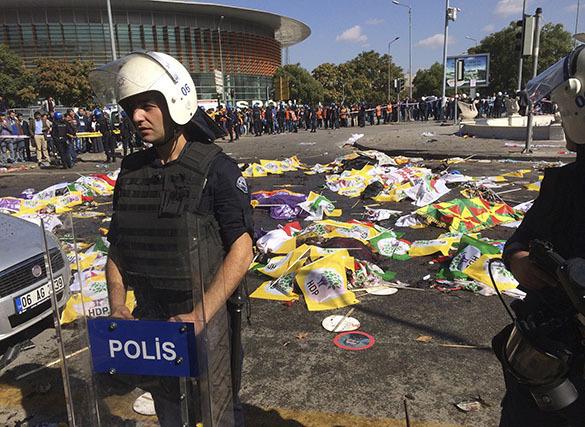 Теракт в столице Турции: число погибших достигло 86 человек