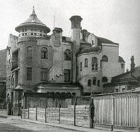 Мансуровский переулок, дом 4, так называемый дом Лоськова, 1930