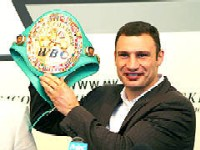 Виталий Кличко соскучился по боксу