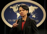 Кондолиза Райс пригрозила Ирану Советом Безопасности ООН