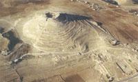 Крепость Иродион, где производились раскопки. Фото с сайта
