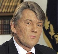 Ющенко: русский язык кончается там же, где и Россия