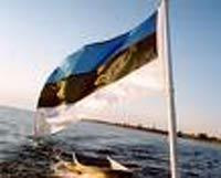 У посольства Эстонии в Минске сожгли эстонский флаг