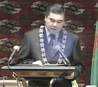 Новый президент Туркмении был стоматологом