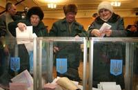 Украина: подсчёт голосов медленно движется к концу