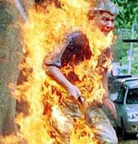 Семья готова сжечь себя второй раз