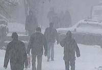 Хабаровский край снова «в осаде» снежного циклона