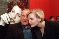 Питер Линдберг дружит с топ-моделью Надей Ауэрман. Фото