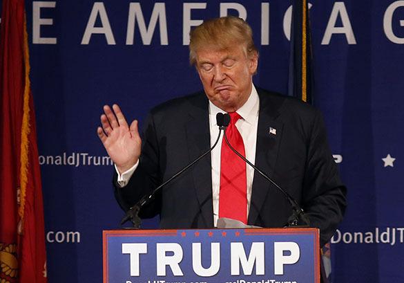 Дональда Трампа пытаются затянуть в порноскандал