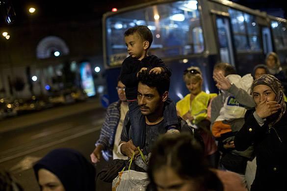 Беженец из Сирии сумел