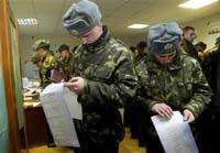 ЦИК Украины досчитывает голоса