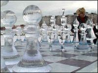Москва-Лондон - международный турнир по ледяным шахматам