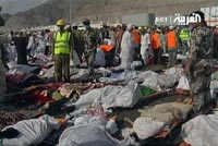 Ритуал побивания дьявола в Мекке привел к гибели 100 человек
